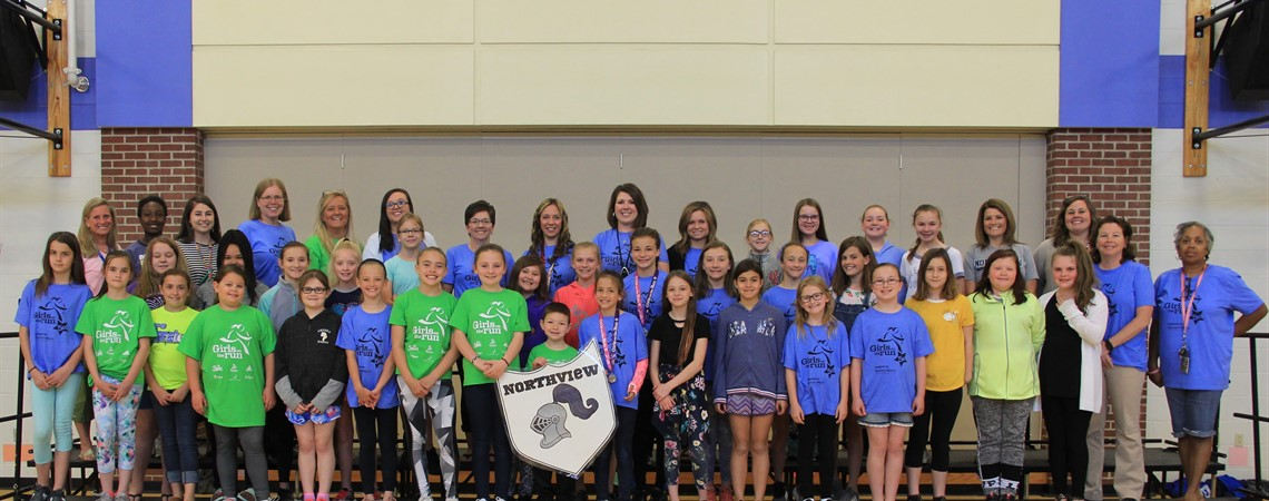 Northview Elementary had 36 participants and their running partners complete the Central Kentucky Girls on the Run 5K at the KY Horse Park on Saturday, April 20.