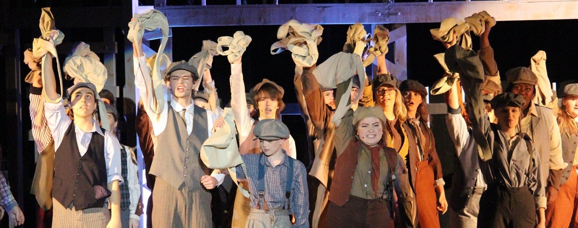 "MCHS Dr. Robert Haynes Spring Musical ""Newsies"""
