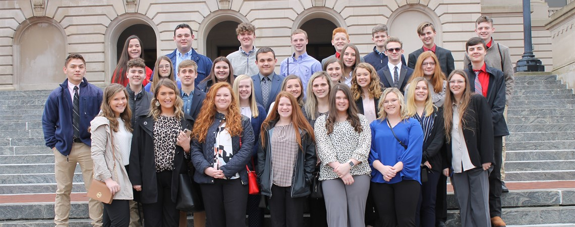 CTE Student Leadership Day, Frankfort, Kentucky