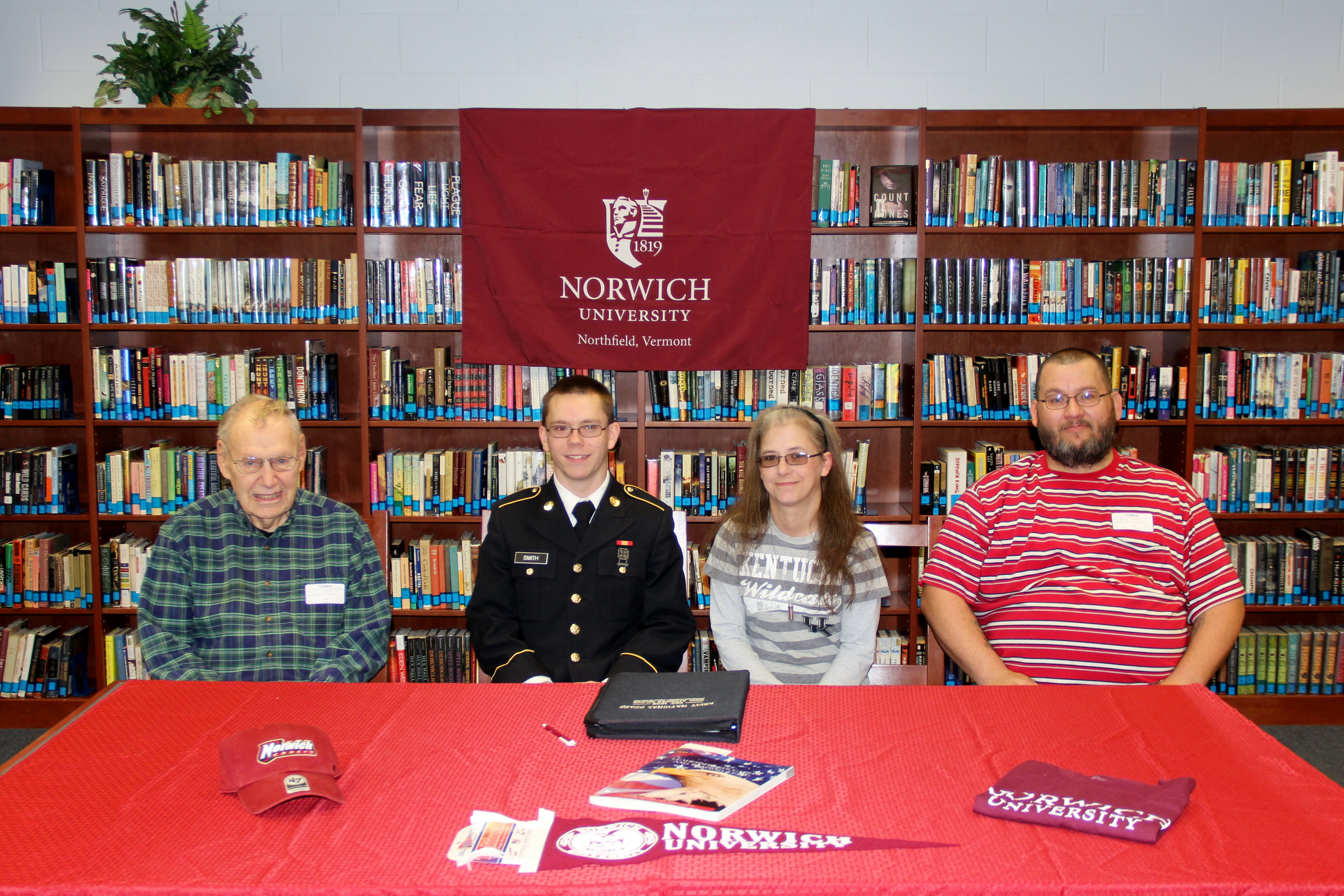 Cadet Cameron Smith signs with Norwich.