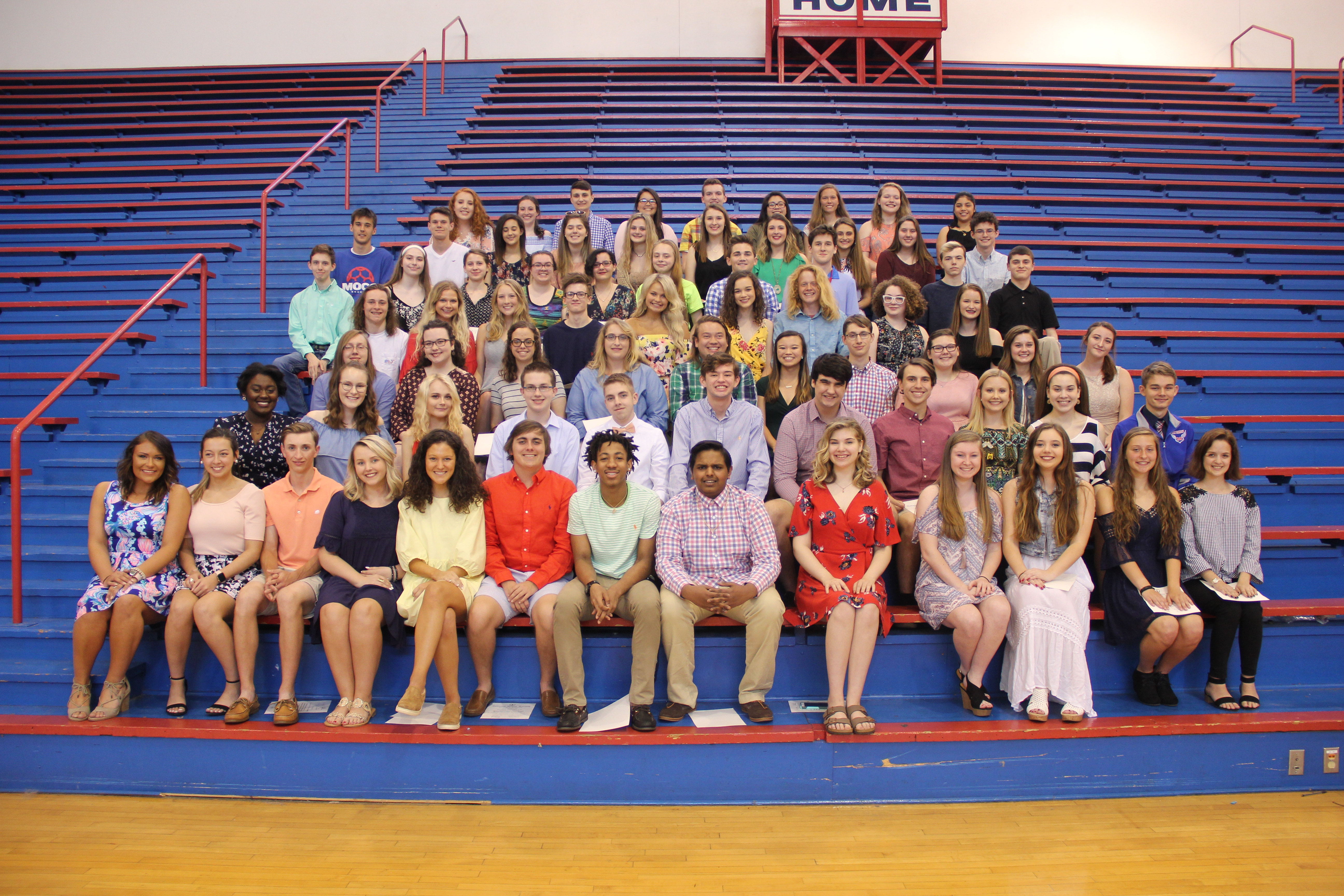 MCHS Class of 2018 NHS Inductees